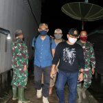 Wadansatgas TMMD Kodim Tanjab Sambut Kedatangan Rombongan dari Pemkab Tanjab Timur