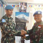 Perkuat Hubungan Komunikasi,Pasukan Garuda di LebanonKunjungi Nepal Battalion