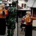 Beredar Video Anggota TNI Diamuk Seorang Perempuan, Dandim Garut Beri Penjelasan