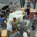 TNI AL Kirim KRI FTH-361 Angkut Bantuan Korban Gempa Sulbar