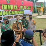 BBS Dukung Program TMMD di Desa Sungaiterap