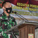 Korem 042/Gapu Gelar Sosialisasi Balatkom dan Paham Radikal